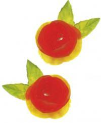 Фото розочек из помидоров
