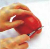 Шаг 4. Удаление тонкого ломтика для придания чашке устойчивости