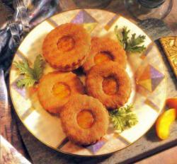 Фото готового абрикосового печенья