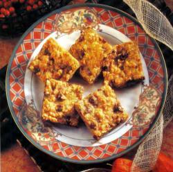 Фото готового брускового печенья
