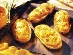 Фото готового дважды запеченного картофеля