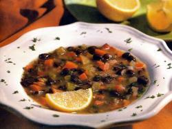 Фото готового фасолевого супа