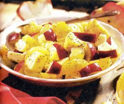 Фото готового фруктового салата