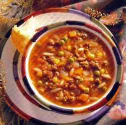 Фото готового говяжьего супа