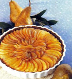 Фото готового грушевого пирога