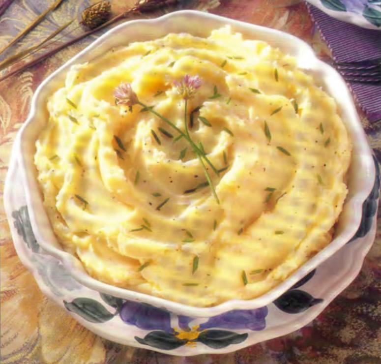 Фото готового картофельного пюре