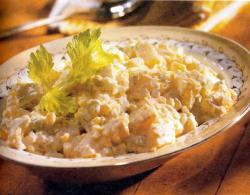 Фото готового картофельного салата