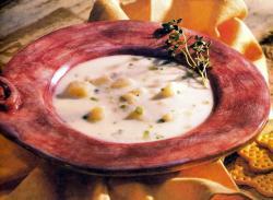 Фото готового картофельного супа