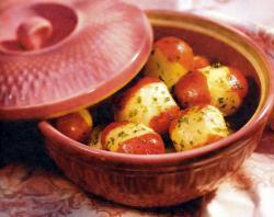 Фото готового картофеля с петрушкой