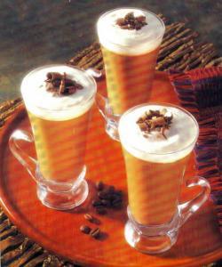 Фото готового кофе по-венски