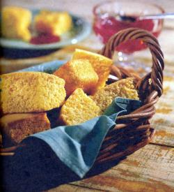 Фото готового кукурузного хлеба