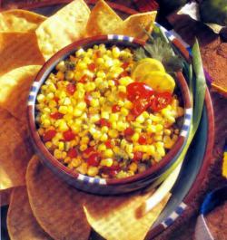 Фото готового кукурузного салата