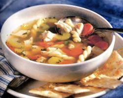 Фото готового куриного супа