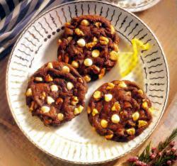 Фото готового мягкого печенья