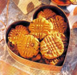 Фото готового печенья с арахисовым маслом