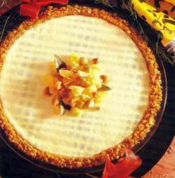 Фото готового пирога с сыром