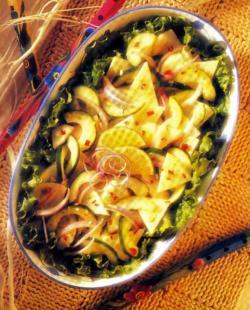Фото готового салата из хикама