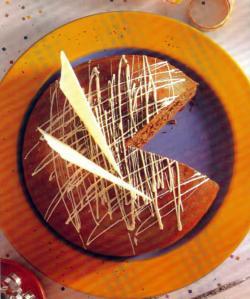 Фото готового шоколадного кекса