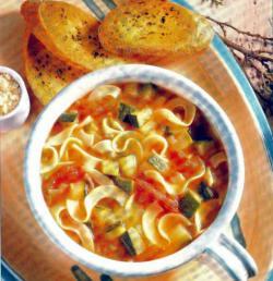 Фото готового супа-лапши