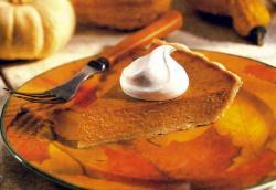 Фото готового тыквенного пирога