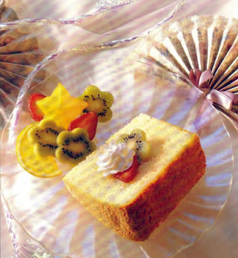 Фото готового воздушного торта