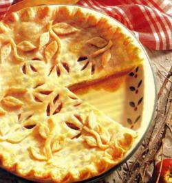Фото готового яблочного пирога