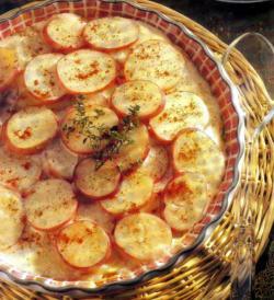 Фото готового запеченного картофеля