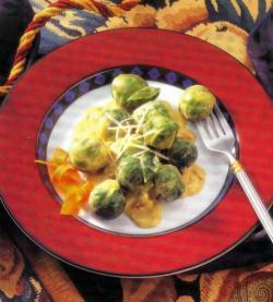 Фото готовой брюссельской капусты