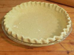 Фото готовой двойной лепешки для пирога