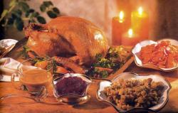 Фото готовой индейки на день благодарения