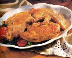 Фото готовой курицы в духовке