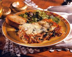 Фото готовой овощной лазаньи