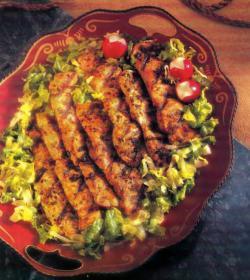 Фото готовой свинины с чили