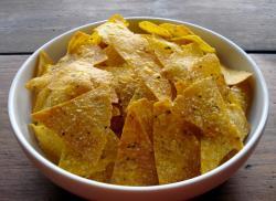 Фото готовых чипсов тортилльо