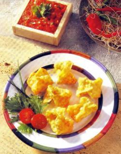 Фото готовых пакетов с сыром и колбасой