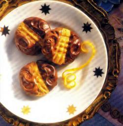 Фото печенья с шоколадом