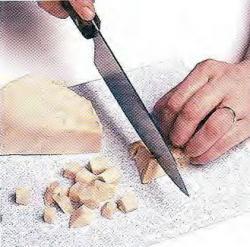 Как нарезать индейку