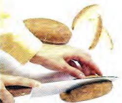Как нарезать картофель дольками