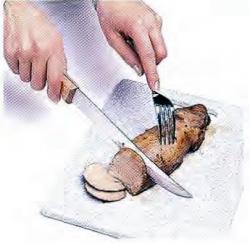 Как нарезать свинину