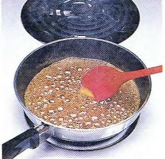 Приготовление апельсиновой глазури