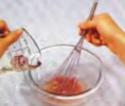 Шаг 2. Добавление растительного масла
