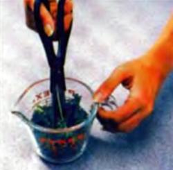 Шаг 2. Измельчение петрушки
