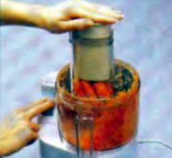 Шаг 3. Измельчение моркови