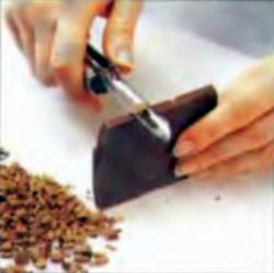 Шаг 3. Получение шоколадной стружки