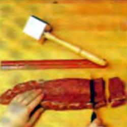 Шаг 3. Разрезание мяса на 8 равных кусков