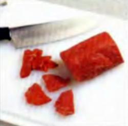 Шаг 4. Нарезка мяса
