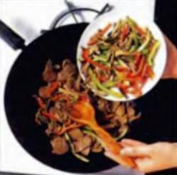Шаг 6. Добавление грибов и перца