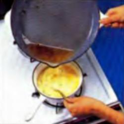 Шаг 9. Добавление жира в смесь йогурта